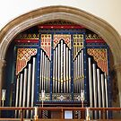 Chancel Organ, Chelmsford Cathedral by wiggyofipswich
