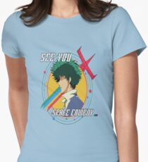 COWBOY BEBOP - SPIKE SPIEGEL Womens Fitted T-Shirt