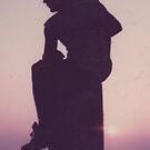 A Man at Sunset by Lindymrb