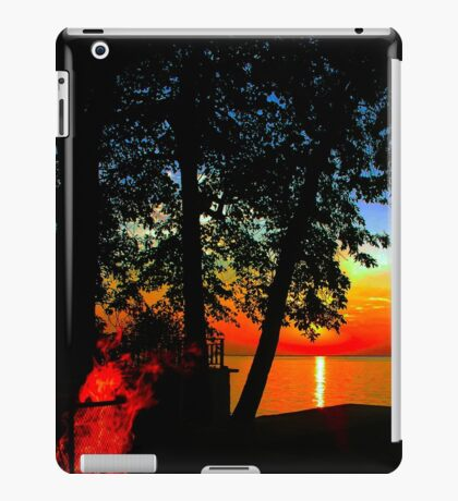 Evening Fire iPad Case/Skin