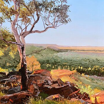 Original Painting: Constance Range, Boodjamulla, Queensland by MartinLome