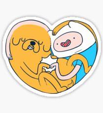 best buddies - finn and jake Sticker