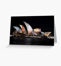 Vivid Festival,Sydney,Australia 2016  Greeting Card