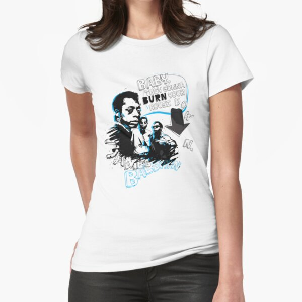 Go Tell it On The Mountain. James Baldwin Fitted T-Shirt