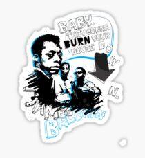 Go Tell it On The Mountain. James Baldwin Sticker