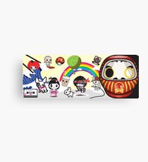 New Mikoto website banner Canvas Print