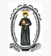 Saint Elizabeth Ann Seton Patron of Catholic Schools Photographic Print
