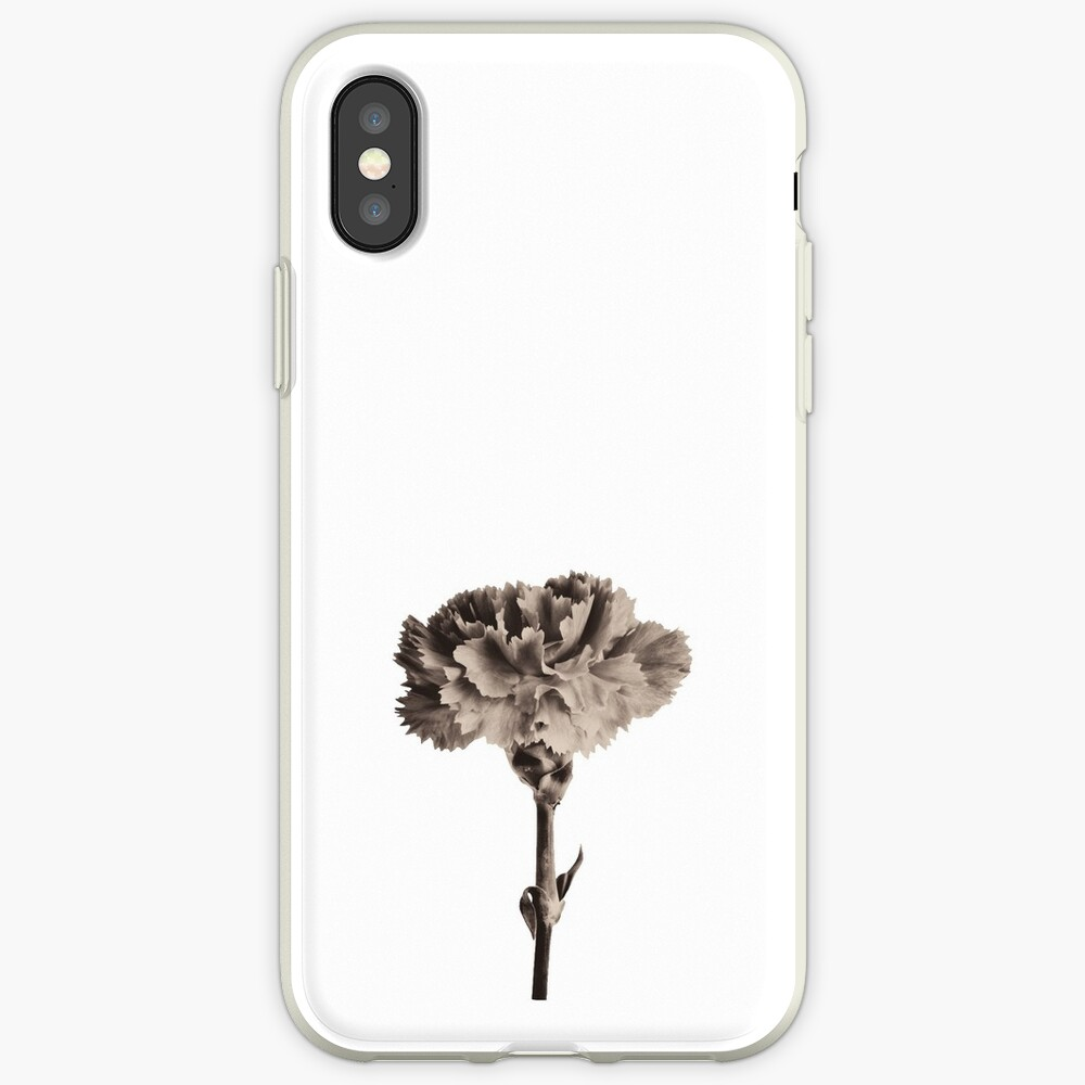 Antique Carnation iPhone Cases & Covers