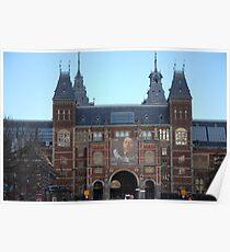 Rijks Museum Amsterdam Poster