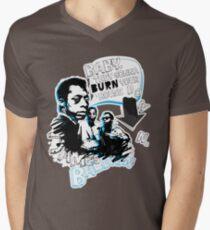 Go Tell it On The Mountain. James Baldwin. For dark fabric. Men's V-Neck T-Shirt