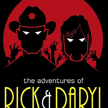 The adventures of Rick and Daryl by absolemstudio
