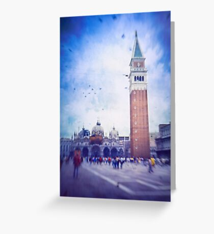 Piazza San Marco, Venice - Version 2 Greeting Card
