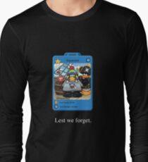 RIP squarcini Long Sleeve T-Shirt