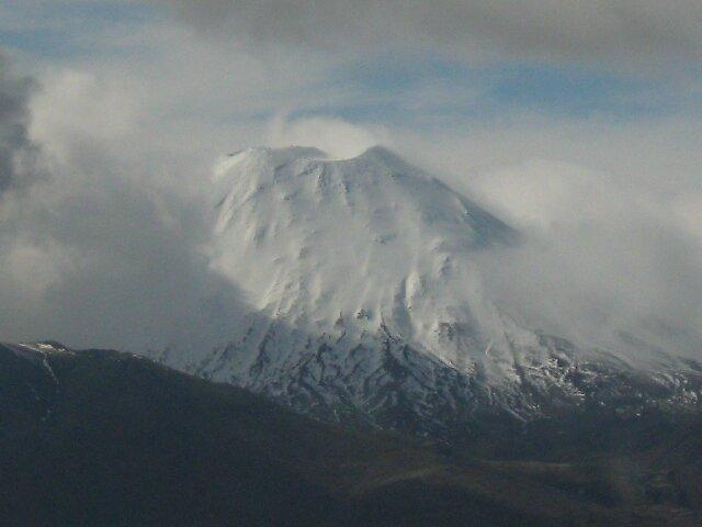 mount Ruapaehu by samash