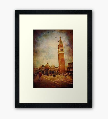 Piazza San Marco - Venice Framed Print