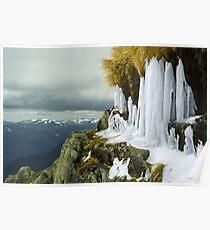 Icicles - Lady Northcotes Canyon Poster