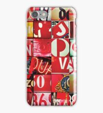 Instagram Alphabet Collection #5 iPhone Case/Skin