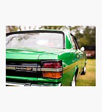 Green Falcon GT Photographic Print