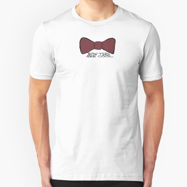 Bow Ties Are Cool Slim Fit T-Shirt