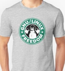 GNU Linux Freedom Green Unisex T-Shirt