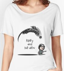 Ripley and the Alien Women's Relaxed Fit T-Shirt