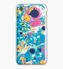 Ebru Marbling - Summer Vibes iPhone Case/Skin