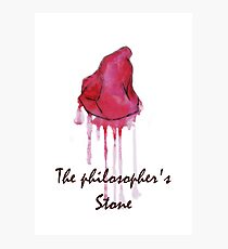 The Philosophers stone Photographic Print