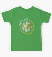 We love our planet. Kids Tee