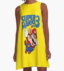 Super Mario Bros 3 A-Line Dress