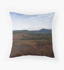 Hills of Warwick Throw Pillow