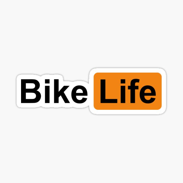 Vie de vélo Sticker