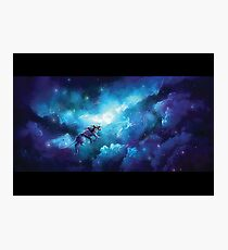 [VLD] Blue space Photographic Print