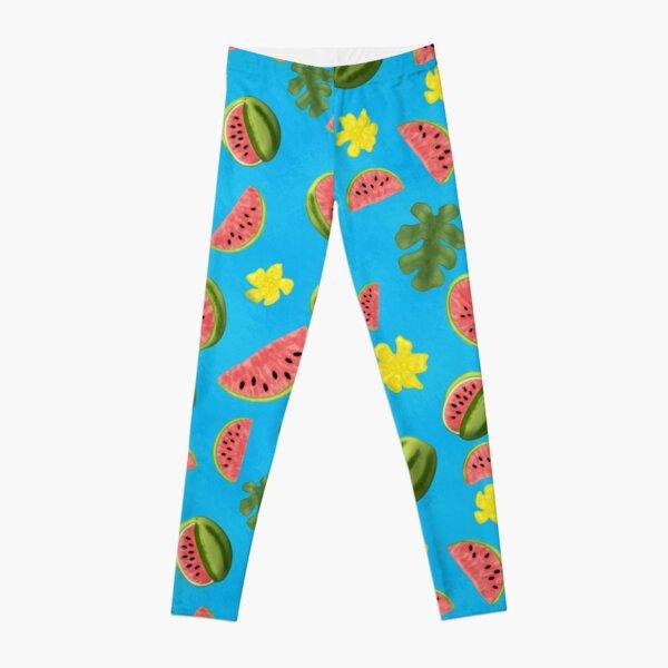 Summer Watermelon Pattern Leggings