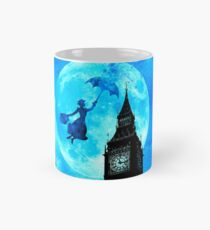 Magical Watercolor Night - Mary Poppins Mug