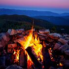 Sunset Fire by Kathy Weaver