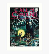 Call of Cthulhu 1st Edition Cover Art Print