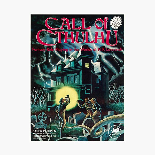 Call of Cthulhu 1st Edition Cover Photographic Print