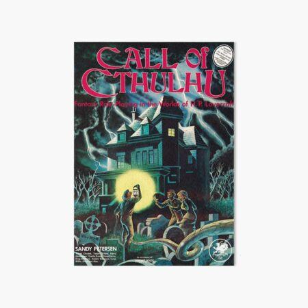 Portada de Call of Cthulhu 1st Edition Lámina rígida