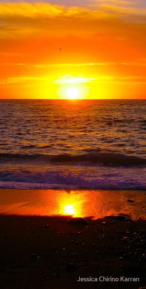 sunset over Los Muertos beach, PV Mexico by Jessica Chirino Karran