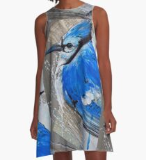 Perched by Tim Miklos A-Line Dress