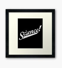 Team Science! Framed Print