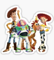 The Toy Story Crew Sticker