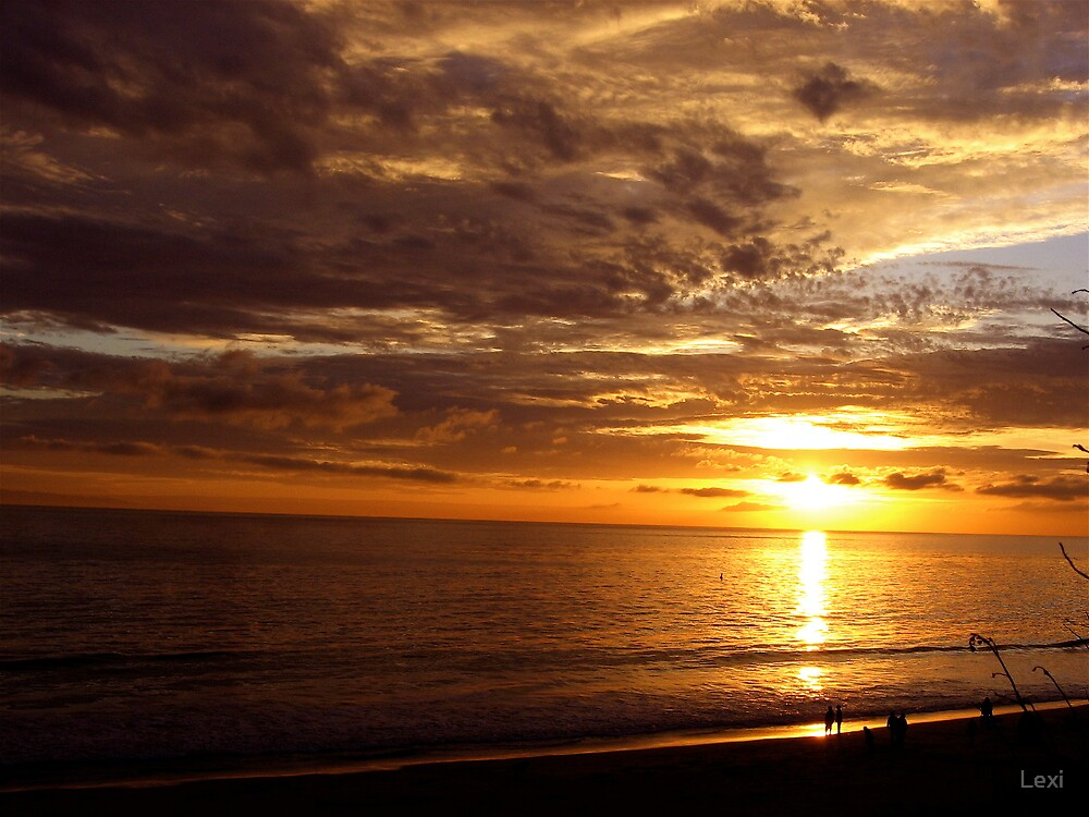 2008 New Years Summerland Sunset by Lexi
