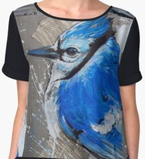 Perched by Tim Miklos Chiffon Top