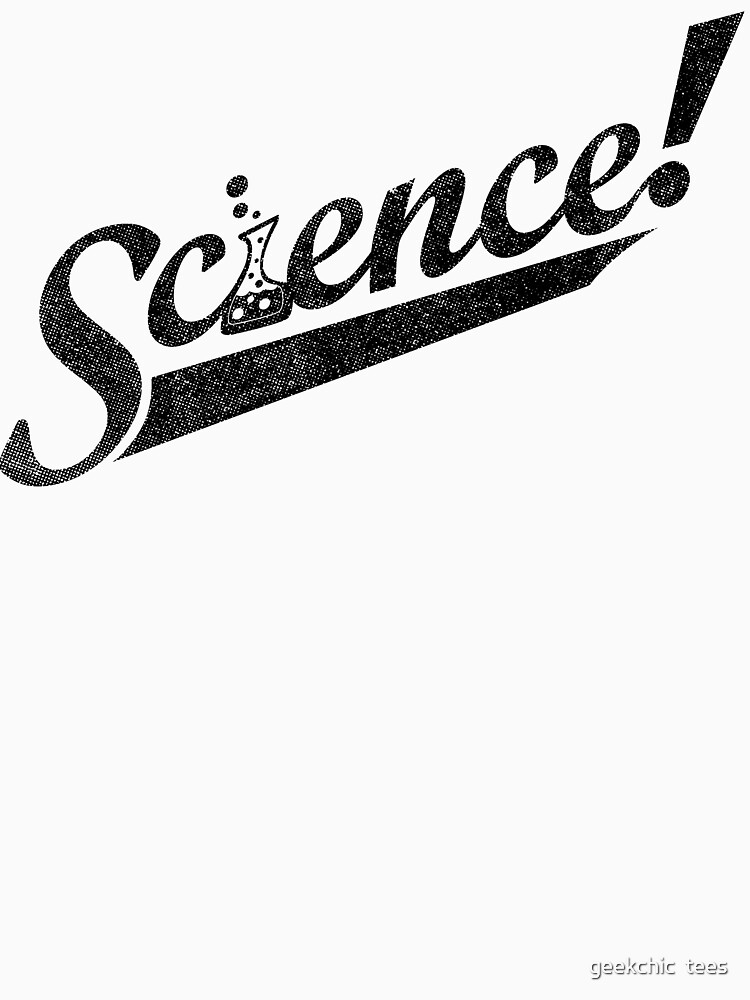 Team Science ! (Black Ink Edition) by geekchic