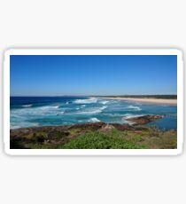 Beaches of Australia - Sawtell Sticker