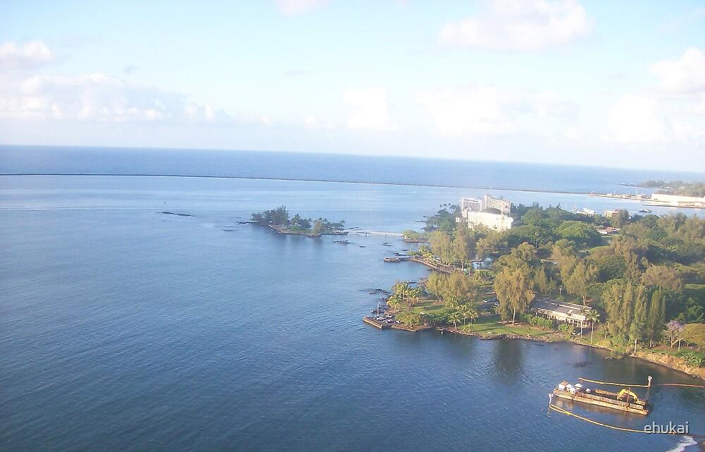 Hilo Bay, Island of Hawaii (The Big Island) by ehukai