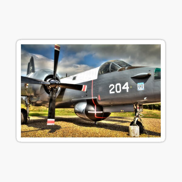 Vintage Fighter Aircraft - Lockheed Neptune Sticker