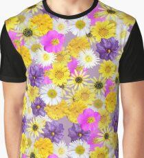 Mixture of Australian Wildflowers Graphic T-Shirt