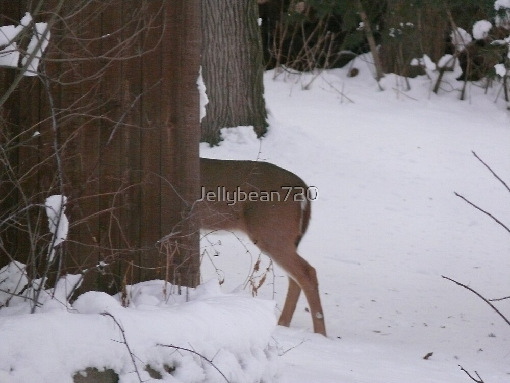 Back yard Buck Butt by Jellybean720